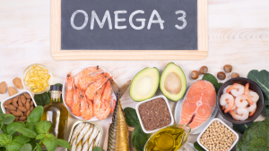A selection of Omega-3-rich foods